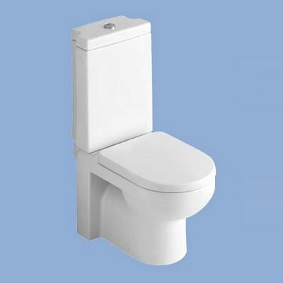 Alföldi LINER monoblokkos WC csésze hátsó kifolyású 6639 L1 R1