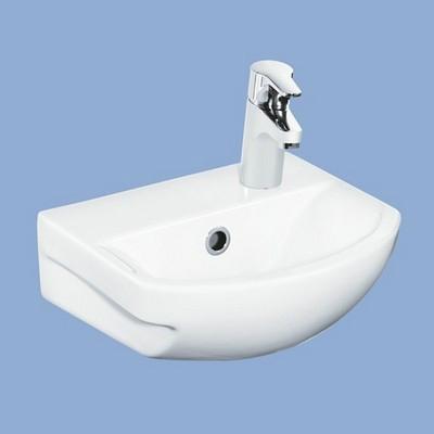 Alföldi Miron Easyplus mosdó 36 cm 1 csaplyukkal jobbos fehér