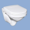 Alföldi Miron mélyöblítésű hátsó kifolyású fali WC
