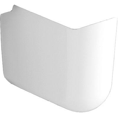 Alföldi Miron szifontakaró normál mosdóhoz fehér