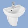 Alföldi Perl mosdó 45 cm 1 csaplyukkal fehér