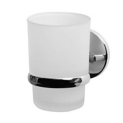 Bisk CHROMA pohár és pohártartó króm