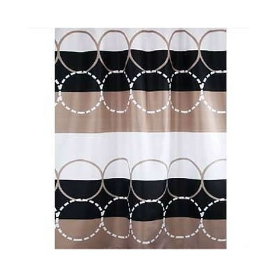 Bisk Circle textil zuhanyfüggöny