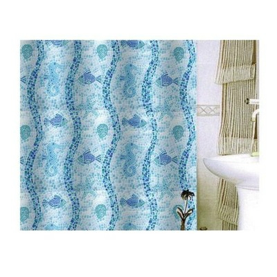 Bisk Corfu textil zuhanyfüggöny