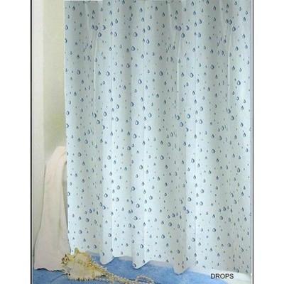 Bisk Drops műanyag zuhanyfüggöny