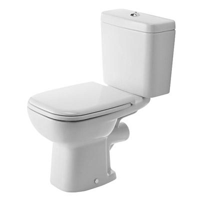 Duravit D-CODE monoblokkos WC csésze hátsó kifolyású
