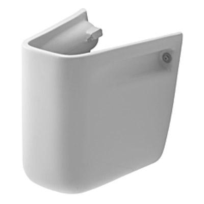 Duravit D-CODE szifontakaró 55 cm 60 cm és 65 cm-es mosdókhoz fehér