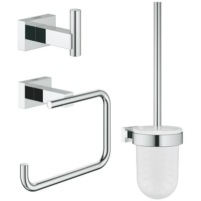 Grohe Essentials Cube fürdőszoba kiegészítő szett GR-40757001
