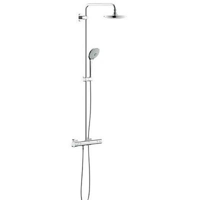 grohe euphoria falra szerelhet termoszt tos zuhanyrendszer 390 mm karral 27420001. Black Bedroom Furniture Sets. Home Design Ideas