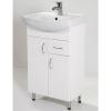 HB Standard 55F fürdőszobaszekrény mosdóval fiókkal