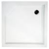 H2O Zénó szögletes zuhanytálca 900 mm slim akril