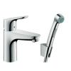Hansgrohe Focus 100 egykaros bojler mosdó és bidé csaptelep szett