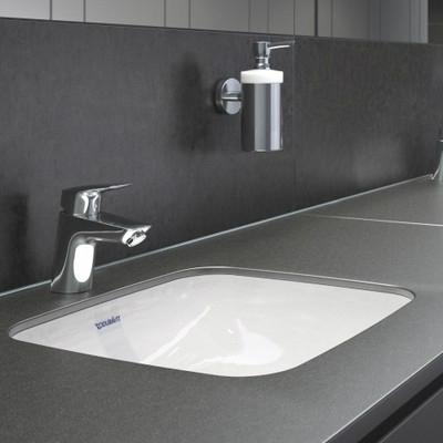 hansgrohe logis egykaros mosd csaptelep pushopen leereszt vel 70 mm kr m 71077000. Black Bedroom Furniture Sets. Home Design Ideas