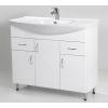 HB Standard 100 fürdőszobaszekrény mosdóval fiókkal