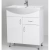 HB Standard 75F fürdőszobaszekrény mosdóval fiókkal