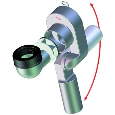 HL 431/40 vizelde szifon 40 mm elfordítható