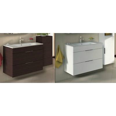 Jika Cube fürdőszobaszekrény mosdóval komplett 80 cm 2 fiókos ...