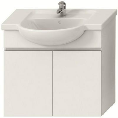 Jika Lyra alsószekrény 80 cm 2 ajtóval fehér fehér