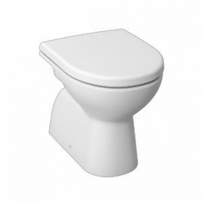 Jika Lyra Plus álló WC csésze mélyöblítésű alsó kifolyású fehér