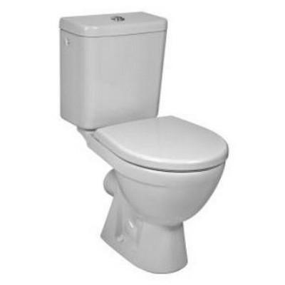 Jika Lyra Plus monoblokkos WC csésze hátsó kifolyású oldalsó vízbekötéssel