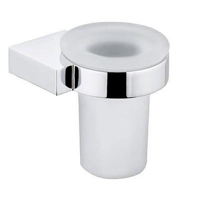 Kludi A-XES fali pohártartó tejüveggel króm