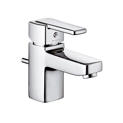 Kludi Q-BEO rövid egykaros mosdó csaptelep automata leeresztővel króm