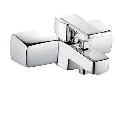 Kludi Q-BEO fali kádtöltő és zuhanycsaptelep króm