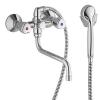 Kludi Standard SPEZIAL kádtöltő és zuhanycsaptelep zuhanyszettel 300 mm króm