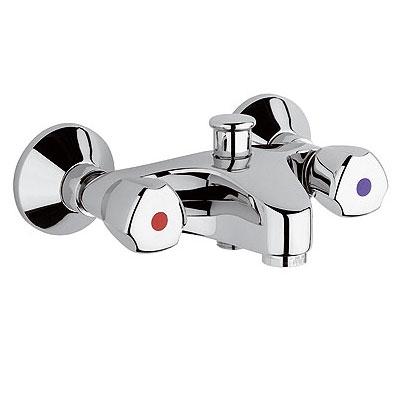 Kludi Standard fali kádtöltő és zuhanycsaptelep króm