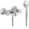 Kludi Standard fali kádtöltő és zuhanycsaptelep zuhanyszettel króm