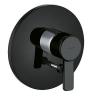 Kludi Zenta BLACK&WHITE süllyesztett kád és zuhanycsaptelep fekete