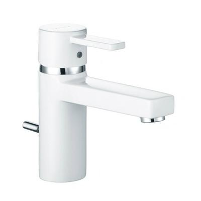 Kludi Zenta XL BLACK&WHITE mosdó csaptelep automata leeresztővel fehér