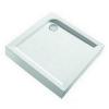Kolo First négyszögletes zuhanytál 800 mm fehér
