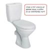 Kolo Idol monoblokkos WC csésze hátsó kifolyású