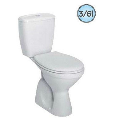 Kolo Idol monoblokkos WC szett alsó kifolyású