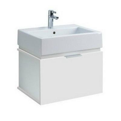 Kolo Twins beépíthető mosdó szekrénnyel komplett 60 cm fehér fehér ...