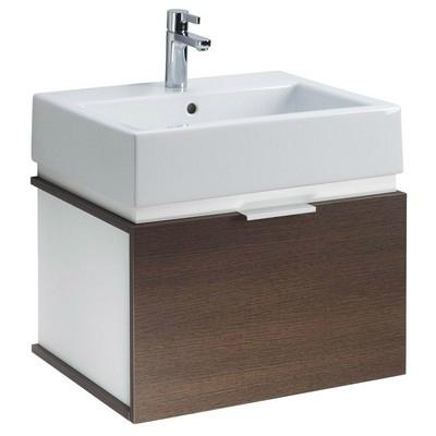 Kolo Twins beépíthető mosdó szekrénnyel komplett 60 cm fehér wenge ...