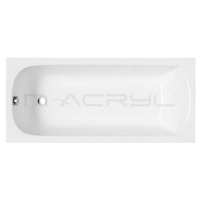 M-Acryl Mira egyenes kád akril 140x70 cm MAC-12192