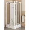 Ravak SUPERNOVA ASBP3-80 szögletes zuhanybox fehér profil pearl betét