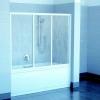 Ravak AVDP3 150 kádparaván szatén profil transparent üveg