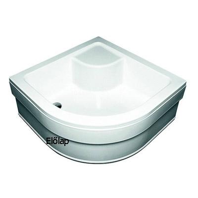 Ravak SABINA-80 zuhanytálcához előlap fehér