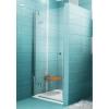 Ravak SMARTLINE SMSD2-90 (A) balos zuhanyajtó króm profil transparent üveg