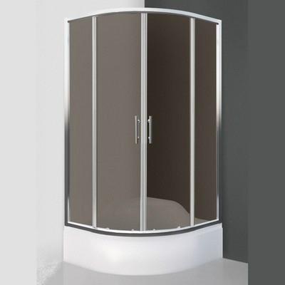 Roltechnik Cofe 800 íves zuhanykabin brillant profil rauch üveg