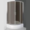 Roltechnik Cofe 900 íves zuhanykabin brillant profil rauch üveg