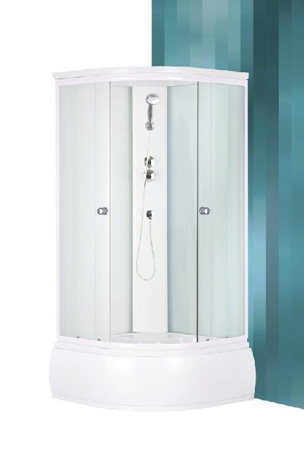 Roltechnik Deep íves zuhanykabin komplex