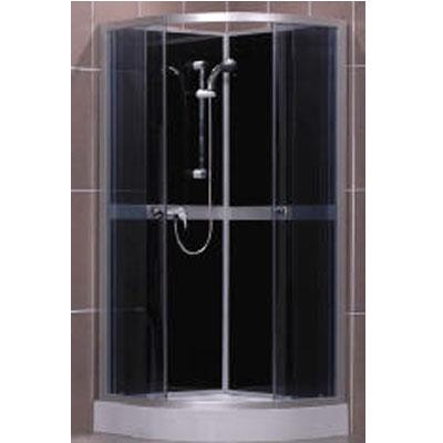 Roltechnik  Simple Black íves zuhanykabin
