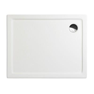 Roltechnik Flat Kvadro 100x80 téglalap alakú zuhanytálca fehér