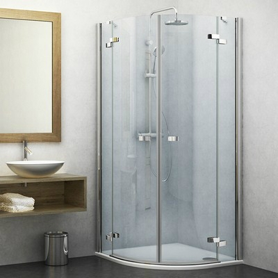 Roltechnik GR2 800 íves zuhanykabin brillant profil transparent betét