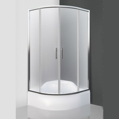 Roltechnik Portland Neo 800 íves zuhanykabin brillant profil matt üveg