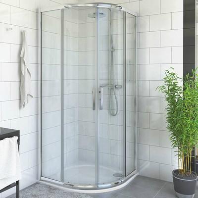 Roltechnik PXR2N 800x1850 íves zuhanykabin brillant profil satinato betét